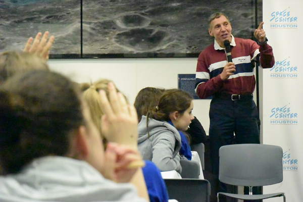 Dr David C. Hilmers, former NASA Astronaut