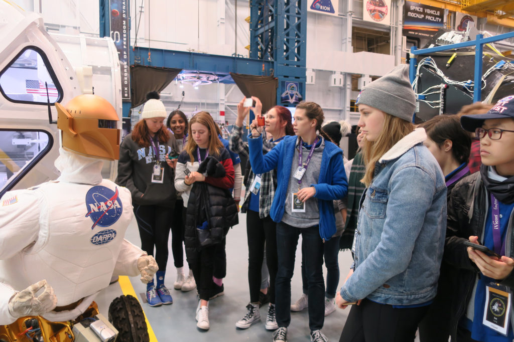 Robonaut, Space Vehicle Mockup Facility, NASA