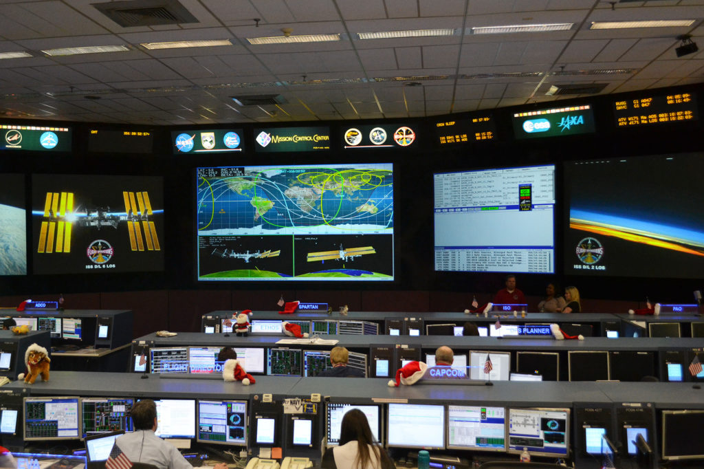 International Space Station Mission Control, NASA