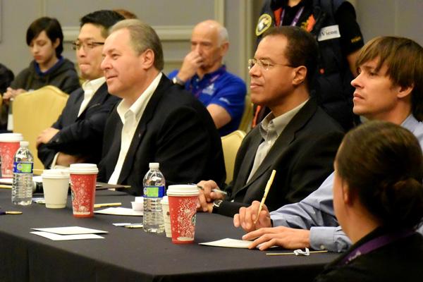 Judging Panel: Aerospace experts