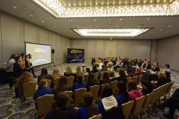 X-Prize Competition at the Hilton, Houston